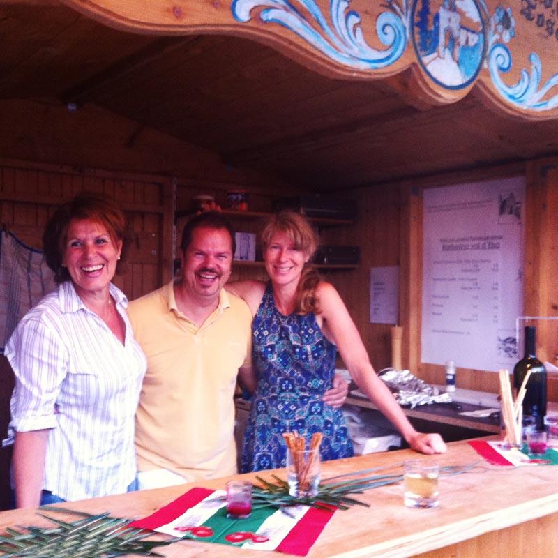 Barberino-Stand auf den Seefest