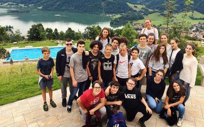 Italienische Schüler in Schliersee 2017